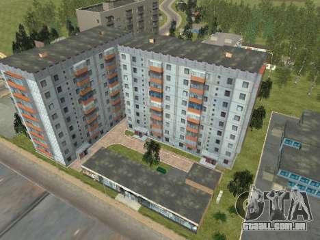 Prostokvashino para GTA Penal Rússia beta 2 para GTA San Andreas por diante tela