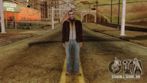 Niko from GTA 5 para GTA San Andreas