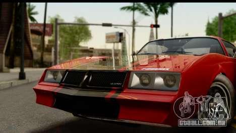 GTA 5 Imponte Phoenix para GTA San Andreas traseira esquerda vista