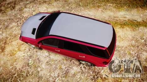 GTA V Benefactor Serrano para GTA 4 vista direita