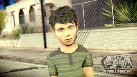 Dante Brother Child Skin para GTA San Andreas terceira tela