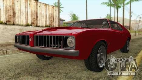 GTA 5 Declasse Stallion para GTA San Andreas
