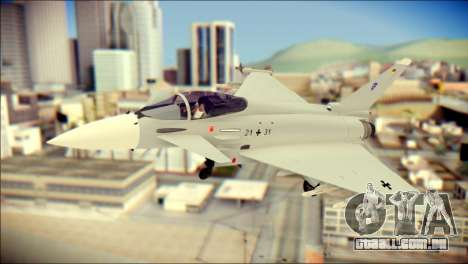 EuroFighter Typhoon 2000 Luftwaffe para GTA San Andreas