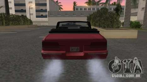 Premier Cabrio para GTA San Andreas traseira esquerda vista