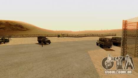 DLC 3.0 Militar atualização para GTA San Andreas sétima tela