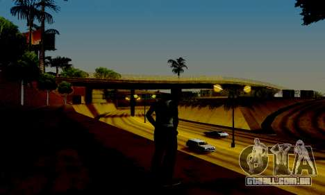 Light ENB Series v3.0 para GTA San Andreas quinto tela