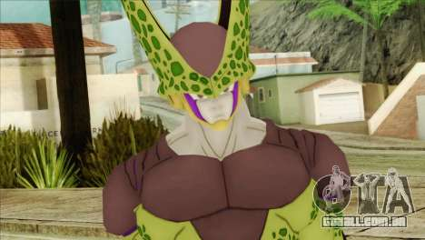 Dragon Ball Xenoverse Cell Perfect para GTA San Andreas terceira tela