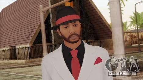 GTA 5 Online Skin 1 para GTA San Andreas terceira tela