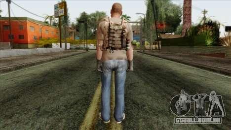 Officer from PMC para GTA San Andreas segunda tela