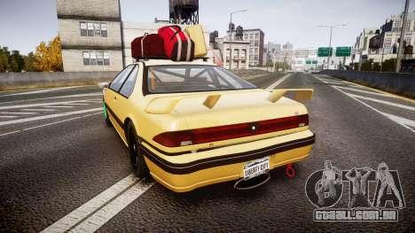 Vapid Fortune Drift para GTA 4 traseira esquerda vista