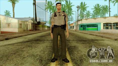 Depurty Alex Shepherd Skin para GTA San Andreas