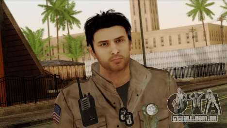 Classic Alex Shepherd Skin para GTA San Andreas terceira tela