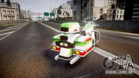 GTA V Western Motorcycle Company Sovereign IRN para GTA 4 traseira esquerda vista