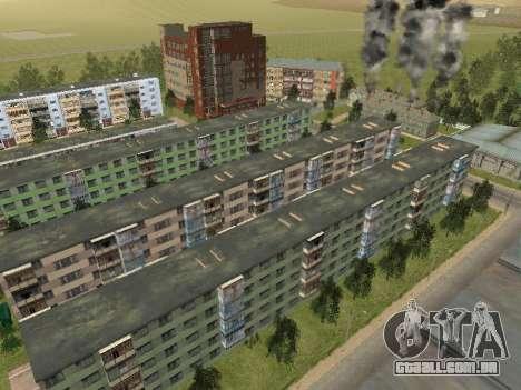 Prostokvashino para GTA Penal Rússia beta 2 para GTA San Andreas décima primeira imagem de tela