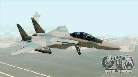 McDonnell Douglas F-15D Philippine Air Force para GTA San Andreas