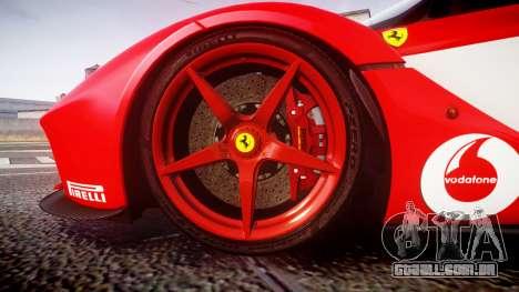 Ferrari LaFerrari 2013 HQ [EPM] PJ3 para GTA 4 vista de volta