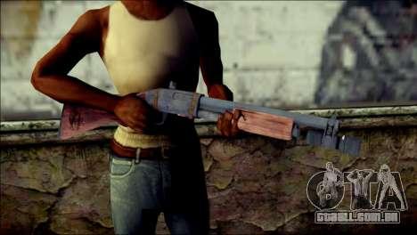 Rumble 6 Chromegun para GTA San Andreas terceira tela
