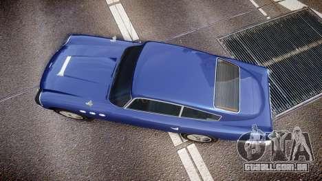 GTA V Dewbauchee JB 700 para GTA 4 vista direita