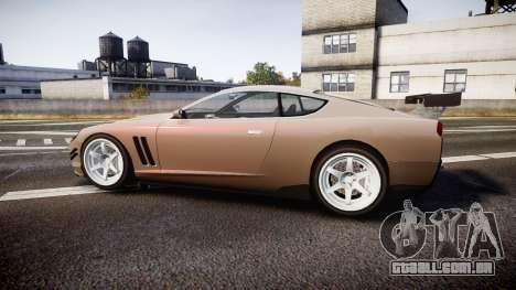 Dewbauchee Super GTO 77 para GTA 4 esquerda vista
