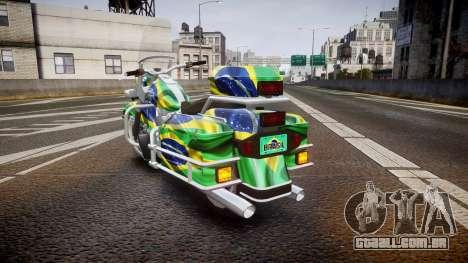 GTA V Western Motorcycle Company Sovereign BRA para GTA 4 traseira esquerda vista