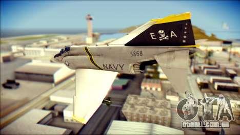 McDonnell Douglas F-4B Phantom II para GTA San Andreas esquerda vista