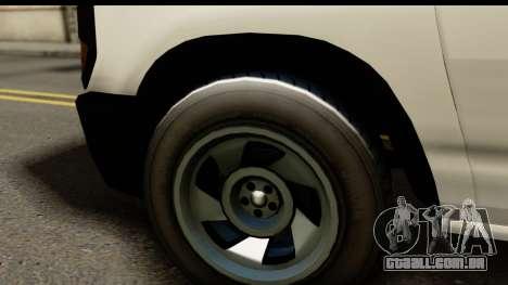 GTA 5 Rumpo para GTA San Andreas traseira esquerda vista