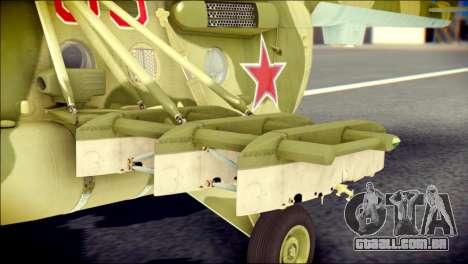Mi-8 Hip para GTA San Andreas vista direita