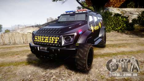 GTA V HVY Insurgent Pick-Up SWAT [ELS] para GTA 4