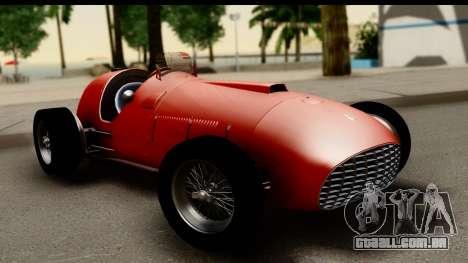 Ferrari 375 F1 para GTA San Andreas