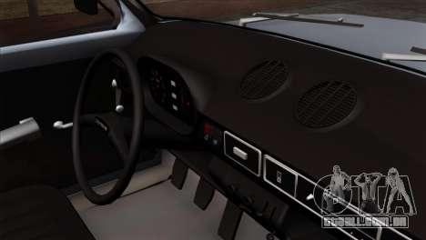 Zastava 1100 Monster para GTA San Andreas vista direita