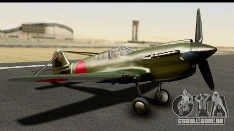 P-40E Kittyhawk IJAAF para GTA San Andreas