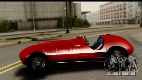 Ferrari 375 F1 para GTA San Andreas vista direita
