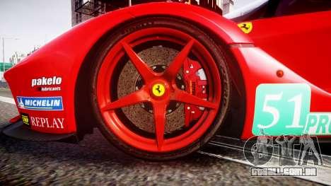Ferrari LaFerrari 2013 HQ [EPM] PJ4 para GTA 4 vista de volta