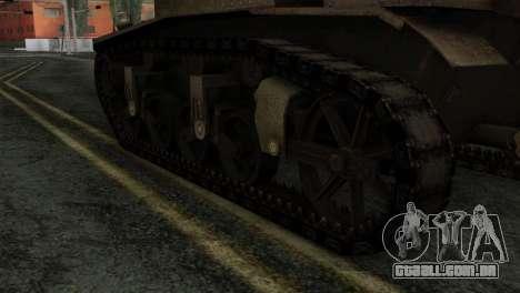 T18 para GTA San Andreas traseira esquerda vista
