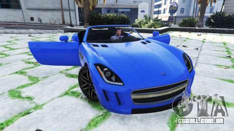 Mortal porta do carro para GTA 5