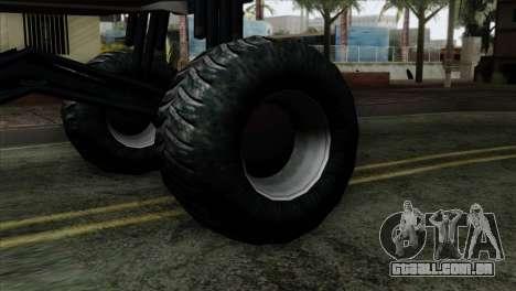 Zastava 1100 Monster para GTA San Andreas traseira esquerda vista