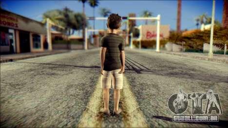 Dante Brother Child Skin para GTA San Andreas segunda tela