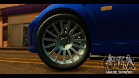 MP3 Dewbauchee XSL650R IVF para GTA San Andreas traseira esquerda vista