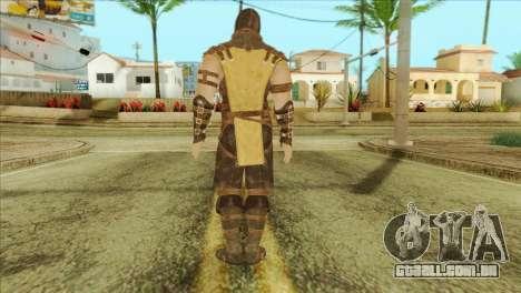 Mortal Kombat X Scoprion Skin para GTA San Andreas segunda tela