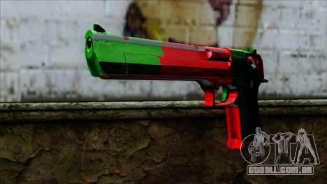 Desert Eagle Portugal para GTA San Andreas