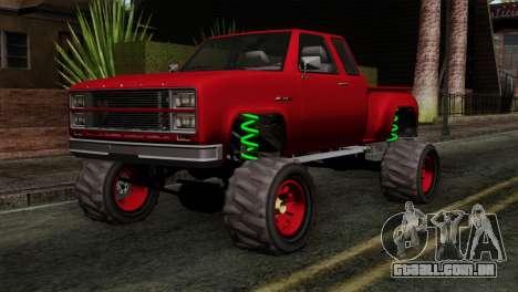 Bobcat Fx4 para GTA San Andreas