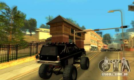 Hellish Extreme CripVoz RomeRo 2015 para GTA San Andreas