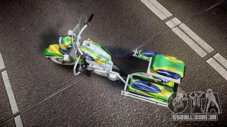 GTA V Western Motorcycle Company Sovereign BRA para GTA 4 vista direita