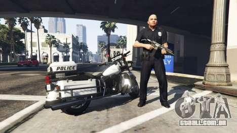Police Mod 1.0b para GTA 5