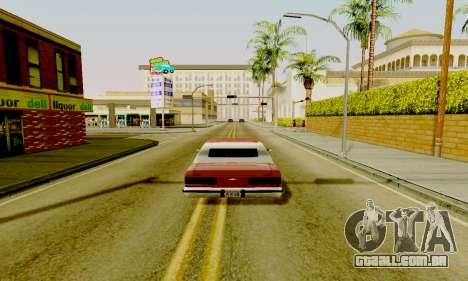 Light ENB Series v3.0 para GTA San Andreas segunda tela