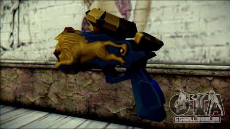 Hyper Magnum Kamen Rider Beast para GTA San Andreas segunda tela