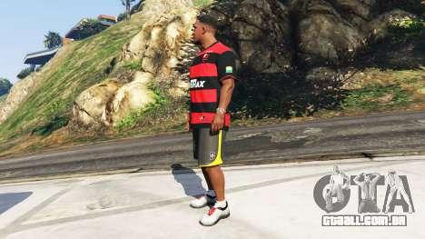 GTA 5 Flamengo T-Shirt - Camisa do Flamengo de 2000-01 segundo screenshot