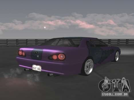 Elegy Paintjobs para GTA San Andreas vista interior