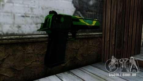Desert Eagle Brazil para GTA San Andreas segunda tela