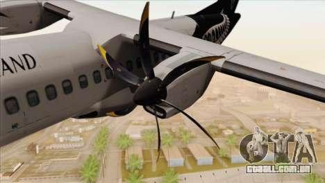 ATR 72-500 Air New Zealand para GTA San Andreas vista direita